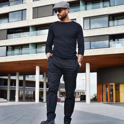 Nederlandse fashion influencer Danny Roumimper in de influencer DNA top 30 lijst