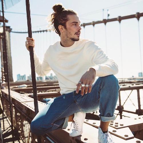 Nederlandse fashion influencer Giaro Giarratana in de influencer DNA top 30 lijst