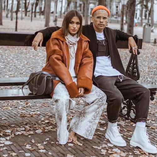 Nederlandse fashion influencer Gio de Graaf in de influencer DNA top 30 lijst