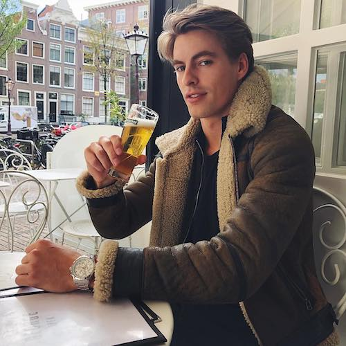 Nederlandse fashion influencer Thomas Nelissen in de influencer DNA top 30 lijst
