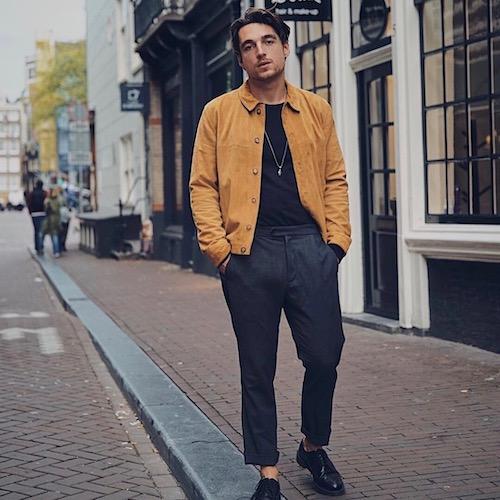 Nederlandse fashion influencer Joris van Velzen in de influencer DNA top 30 lijst