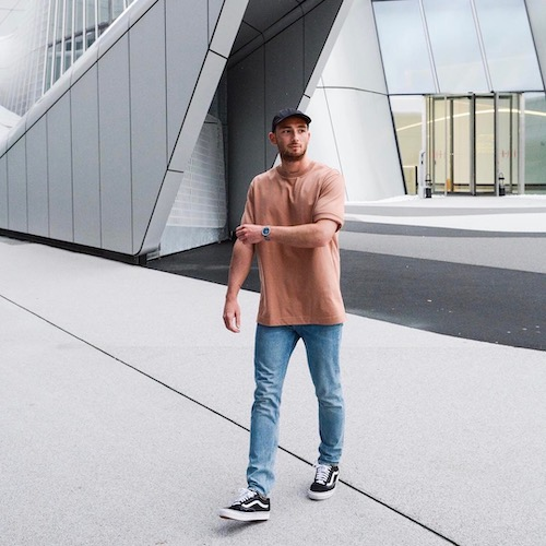 Nederlandse fashion influencer Kevin van Loenen in de influencer DNA top 30 lijst