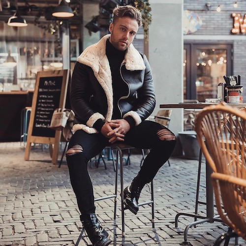 Nederlandse fashion influencer Lars Tegelaars in de influencer DNA top 30 lijst