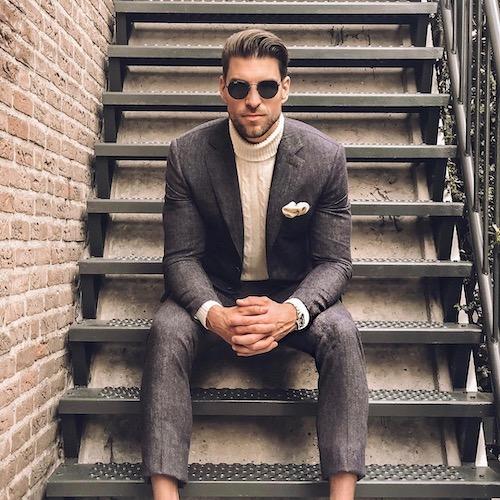 Nederlandse fashion influencer Laurens Lindeman in de influencer DNA top 30 lijst