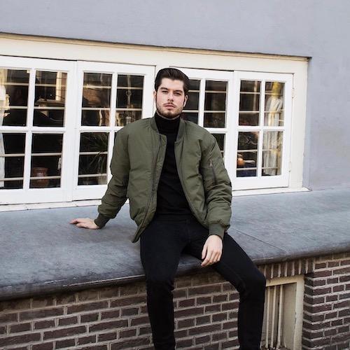 Nederlandse fashion influencer Marco Wallenburg in de influencer DNA top 30 lijst