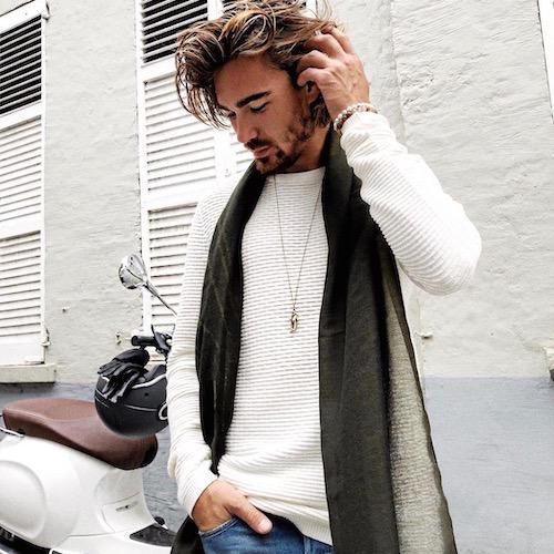 Nederlandse fashion influencer Reno Sluyter in de influencer DNA top 30 lijst