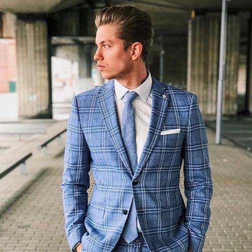 Nederlandse fashion influencer Robert Mitchell in de influencer DNA top 30 lijst
