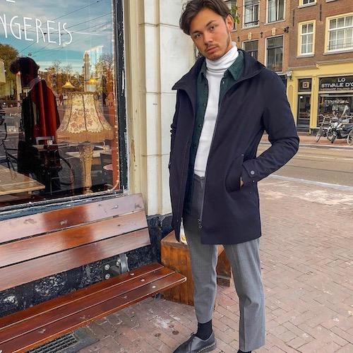 Nederlandse fashion influencer Ruben Brouwer in de influencer DNA top 30 lijst