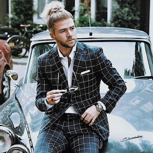 Nederlandse fashion influencer Thijs Bouma in de influencer DNA top 30 lijst