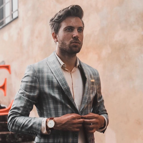 Nederlandse fashion influencer Tim Maandag in de influencer DNA top 30 lijst