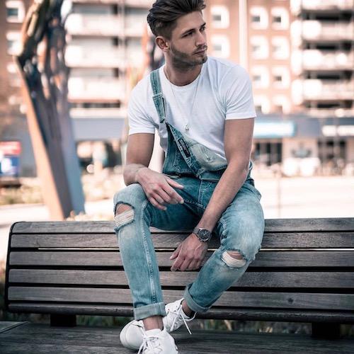 Nederlandse fashion influencer Thijs Holtmaat in de influencer DNA top 30 lijst