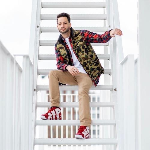 Nederlandse fashion influencer Valerio Zeno in de influencer DNA top 30 lijst