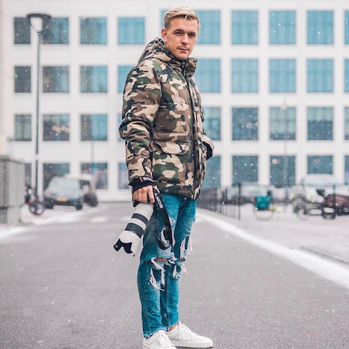 Nederlandse Sport Influencer Jordi Sloots in de influencer DNA top 30 lijst