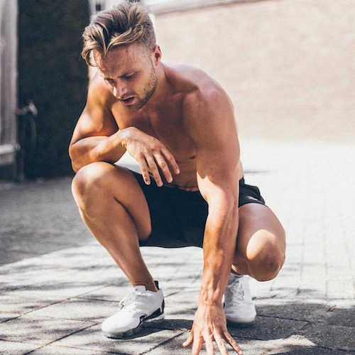 Nederlandse Sport Influencer Lars Tegelaars in de influencer DNA top 30 lijst
