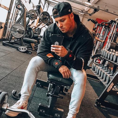 Nederlandse Sport Influencer Robin Sterk in de influencer DNA top 30 lijst