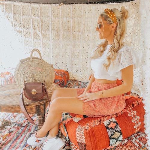 Nederlandse vrouwelijke fashion influencer Ariëlle Knol in de Influencer DNA top 30