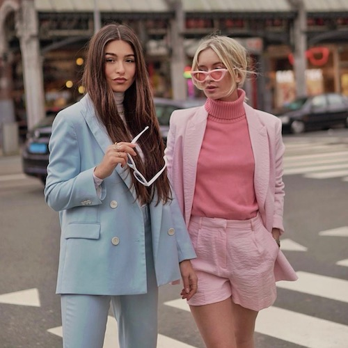 Nederlandse vrouwelijke fashion influencer Isaya Elais in de Influencer DNA top 30 lijst
