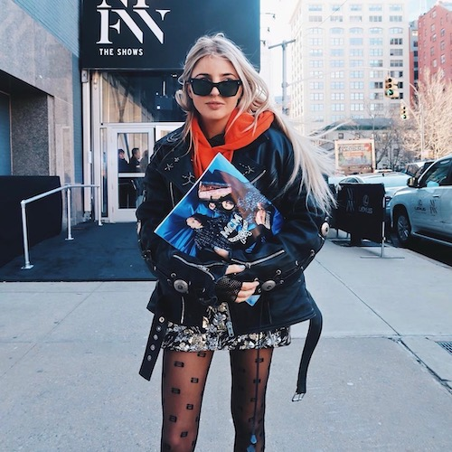 Nederlandse vrouwelijke fashion influencer Lizzy Perridon in de Influencer DNA top 30 lijst