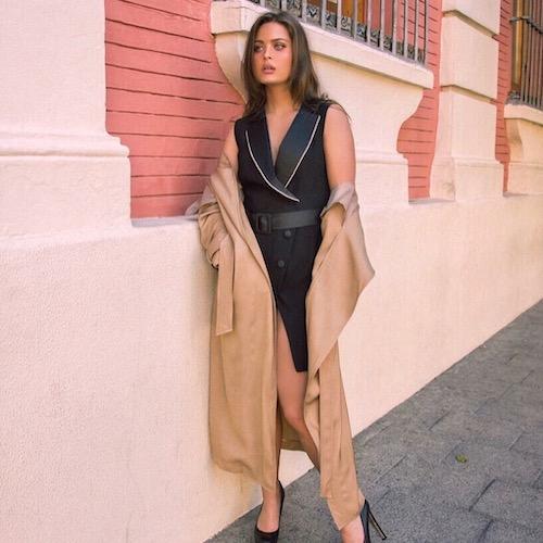 Nederlandse vrouwelijke fashion influencer Muriëlle van Schaik in de Influencer DNA top 30