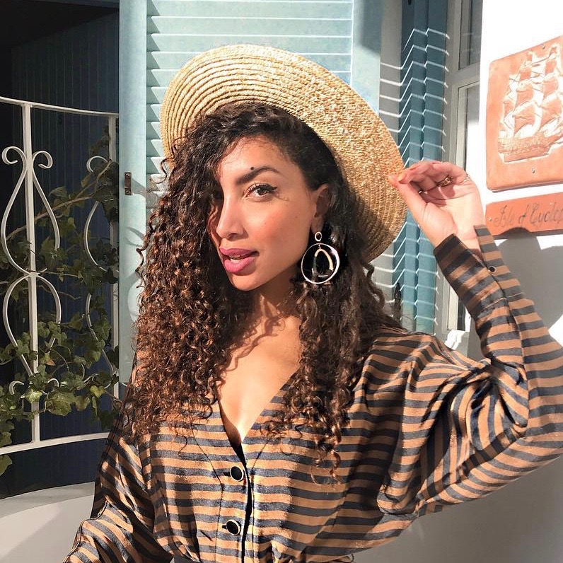 Nederlandse vrouwelijke fashion influencer Larissa Bruin in de Influencer DNA top 30