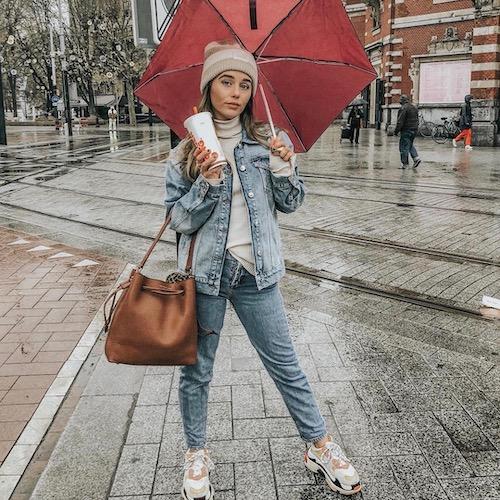 Nederlandse vrouwelijke fashion influencer Saar Bliss in de Influencer DNA top 30