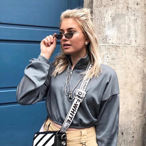 Nederlandse fashion influencer Marije Zuurveld in de influencer DNA top 30 lijst