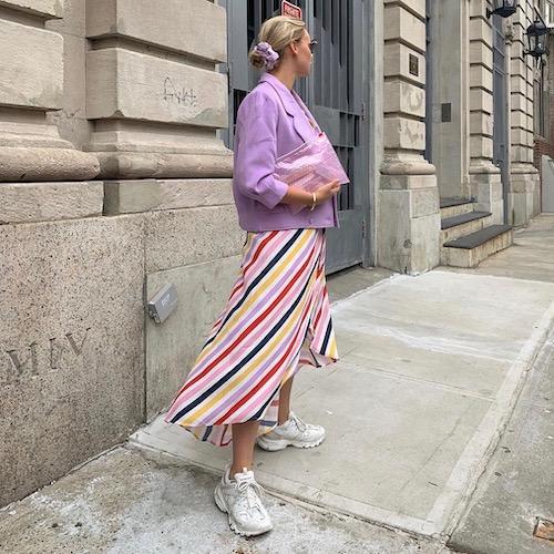 Nederlandse vrouwelijke fashion influencer Vivian Hoorn in de top 30 lijst van Influencer DNA