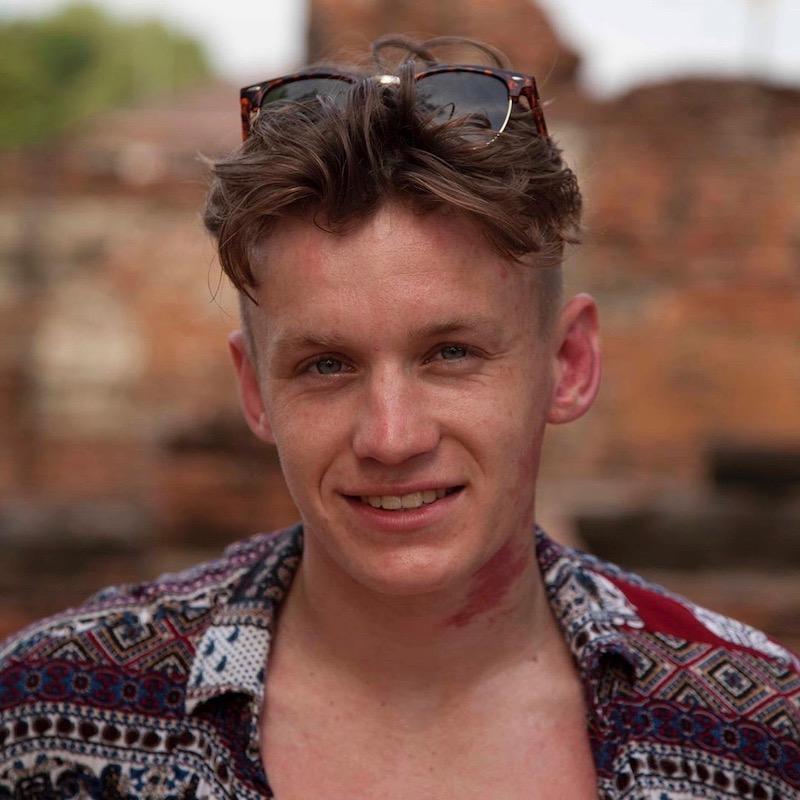 Nederlandse Travel Influencer Govert Sweep in de influencer DNA top 30 lijst