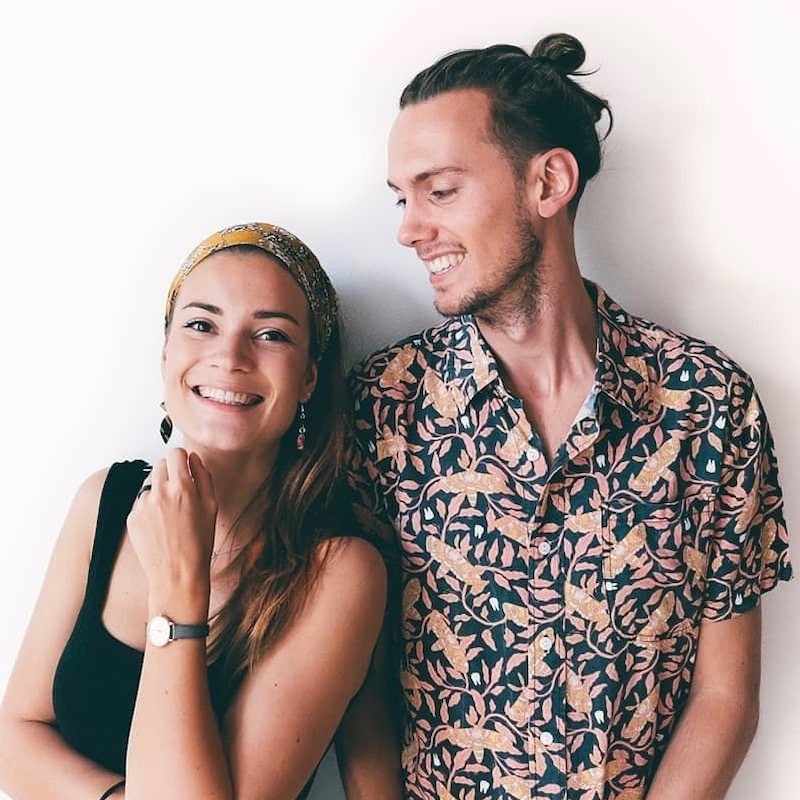 Nederlandse Travel Influencer Greg Gerrits & Irene de Krijger in de influencer DNA top 30 lijst