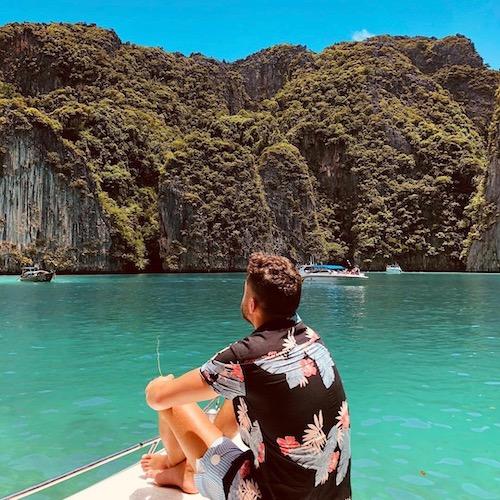 Nederlandse Travel Influencer Mohsin Amdaouech in de influencer DNA top 30 lijst