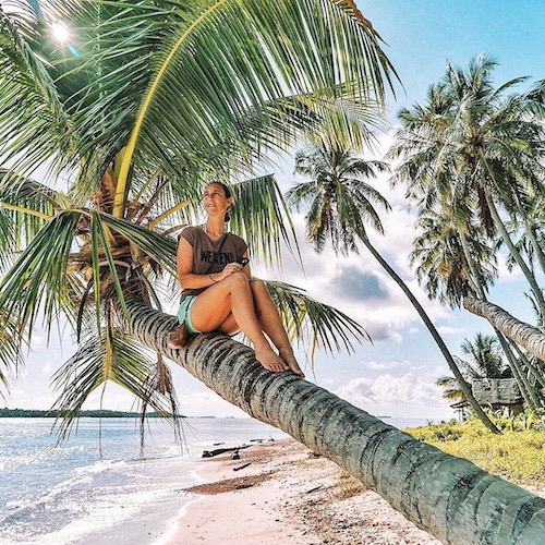Nederlandse Travel Influencer Sigrid Hoek in de influencer DNA top 30 lijst