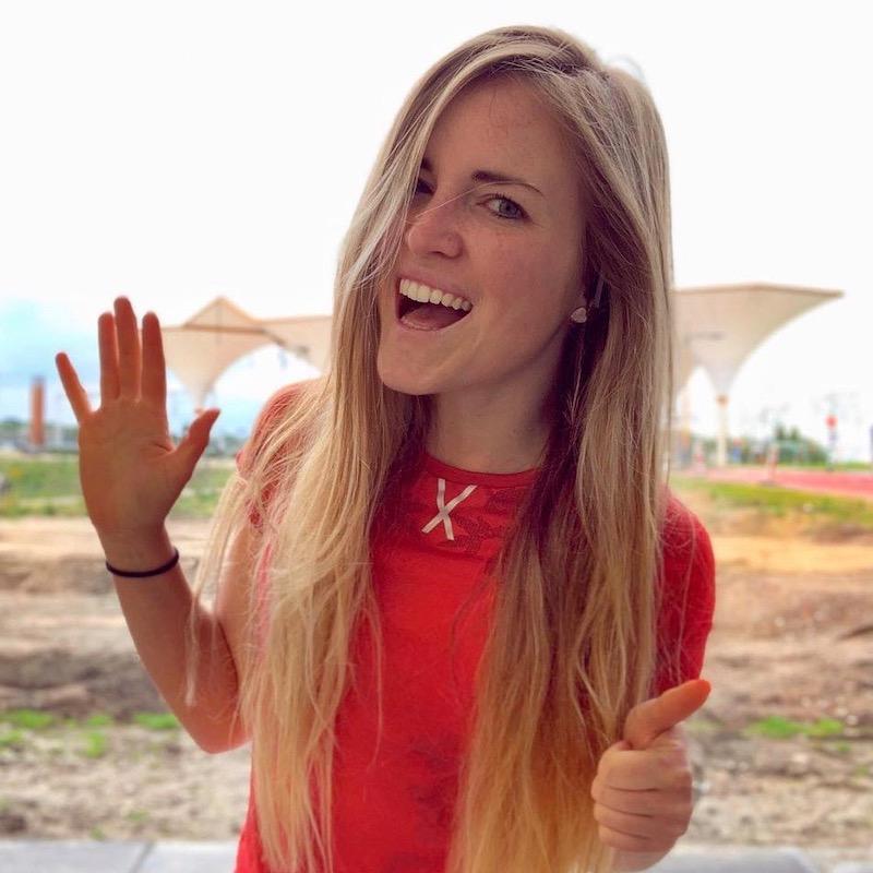 Nederlandse Sport Influencer Celeste Engwerda in de influencer DNA top 30 lijst