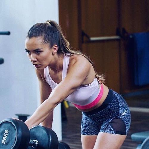 Nederlandse Sport Influencer Celine Blomberg in de influencer DNA top 30 lijst