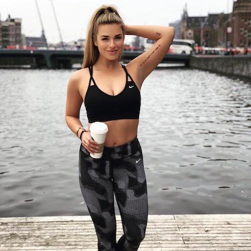 Nederlandse Sport Influencer Gaby Blaaser in de influencer DNA top 30 lijst