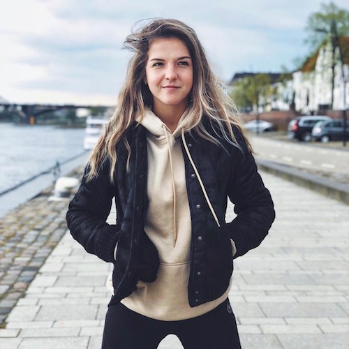 Nederlandse Sport Influencer Jip Sanders in de influencer DNA top 30 lijst