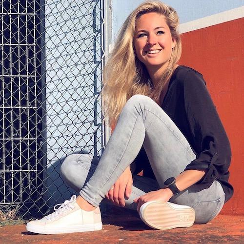 Nederlandse Sport Influencer Japke Sybesma in de influencer DNA top 30 lijst