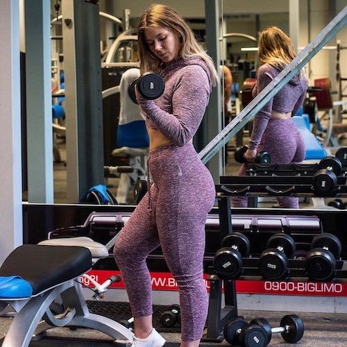 Nederlandse Sport Influencer Mellanie Flantua in de influencer DNA top 30 lijst