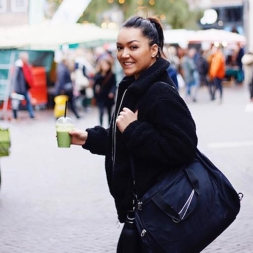 Nederlandse Sport Influencer Louella Bartnig in de influencer DNA top 30 lijst