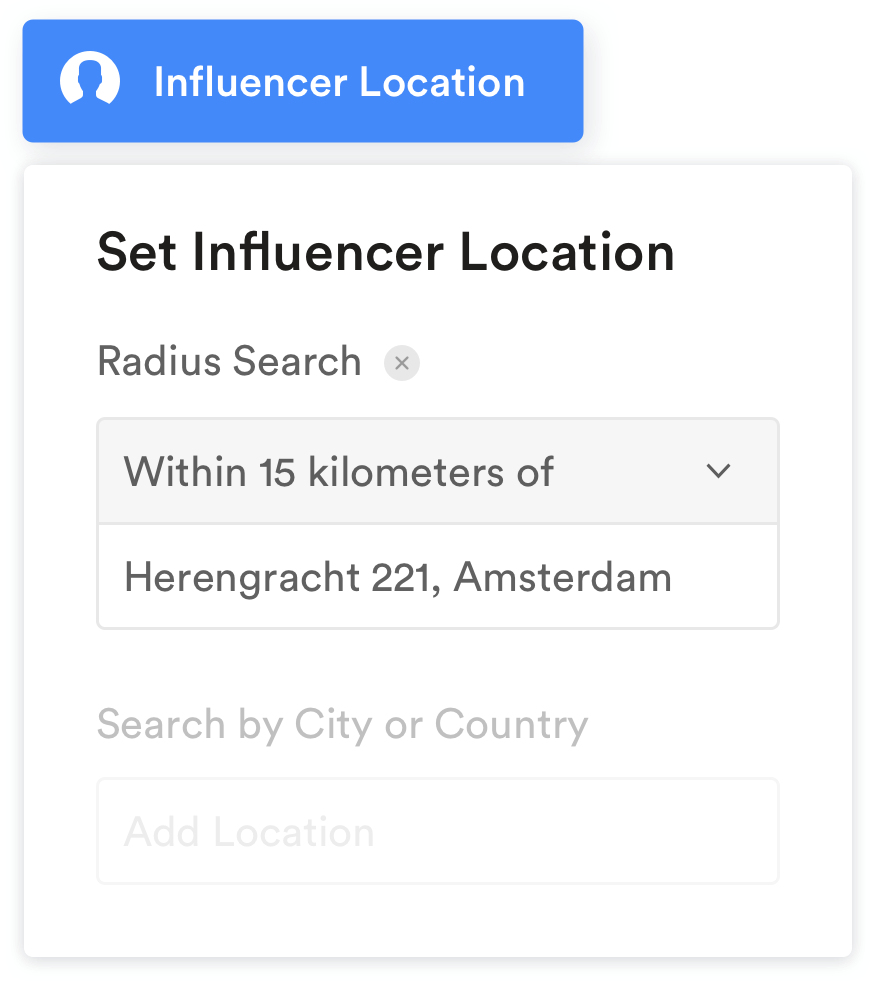 filter op locatie