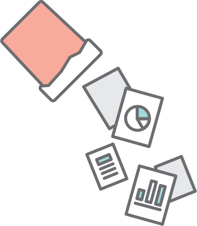 Data-heavy presentations