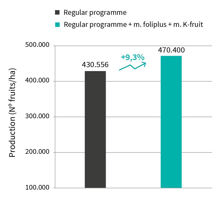 increase zucchini production manvert foliplus