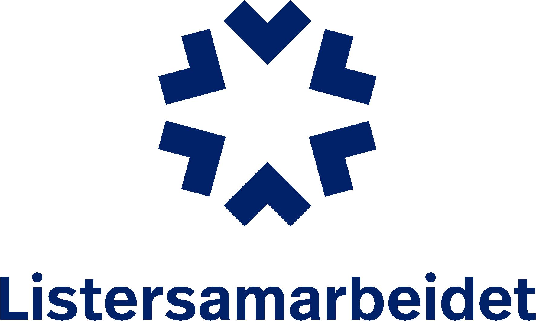 Listersamarbeidet logo