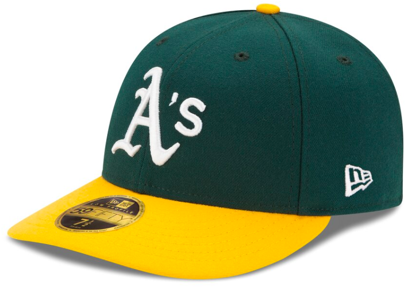 Oakland green and yellow hat
