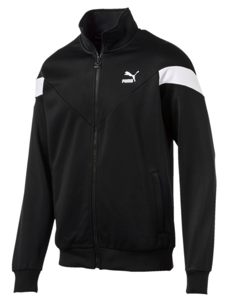 Iconic MCS Puma black track jacket from puma.com