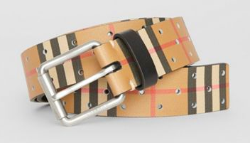 Classic Burberry belt from burberry.com