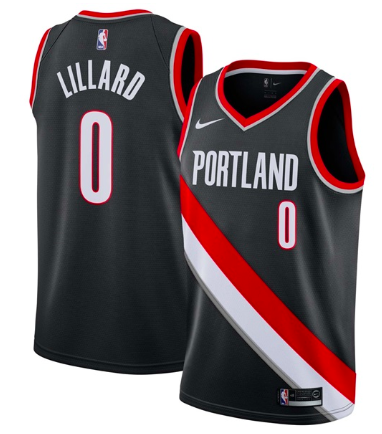 Portland jersey from the official nbastore.eu