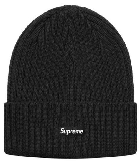 Black Supreme beanie from idoakland.com