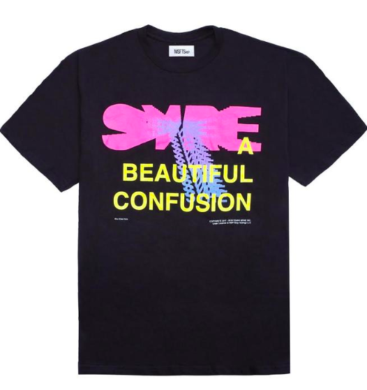 Syre black tour T-shirt from msftsrep.com