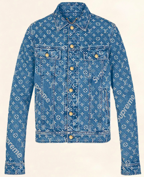 Supreme Monogram denim jacket from the-collectory.com
