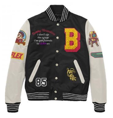 BOBBY TARANTINO LETTERMAN JACKET from logicmerch.com